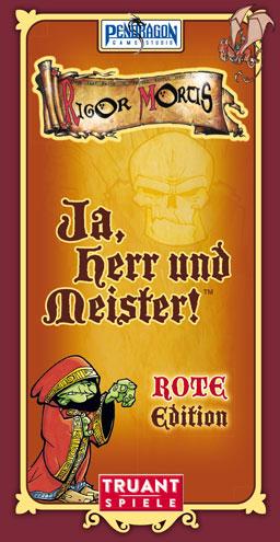 ja herr und meister rote edition cover