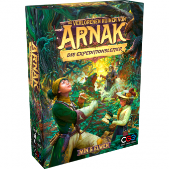 Die verlorenen Ruinen von Arnak: Die Expeditionsleiter