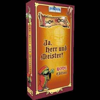 Ja, Herr und Meister! (Rote Edition) DEUTSCH