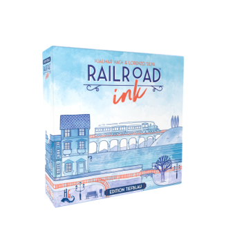 Railroad Ink: Edition Tiefblau GERMAN