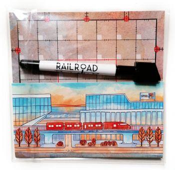 Railroad Ink: Promotafel #1