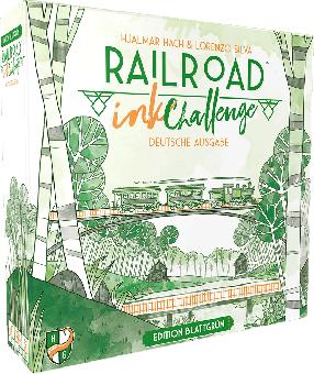 Railroad Ink Challenge: Edition Blattgrün DEUTSCH