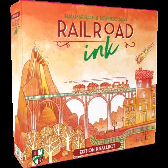 Railroad Ink: Edition Knallrot DEUTSCH