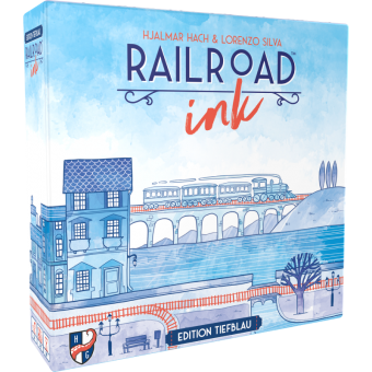 Railroad Ink: Edition Tiefblau DEUTSCH