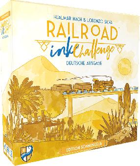Railroad Ink Challenge: Edition Sonnengelb DEUTSCH