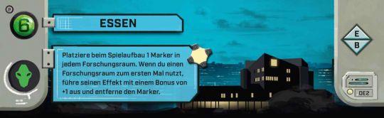 Under Falling Skies-Promo: Essen DEUTSCH