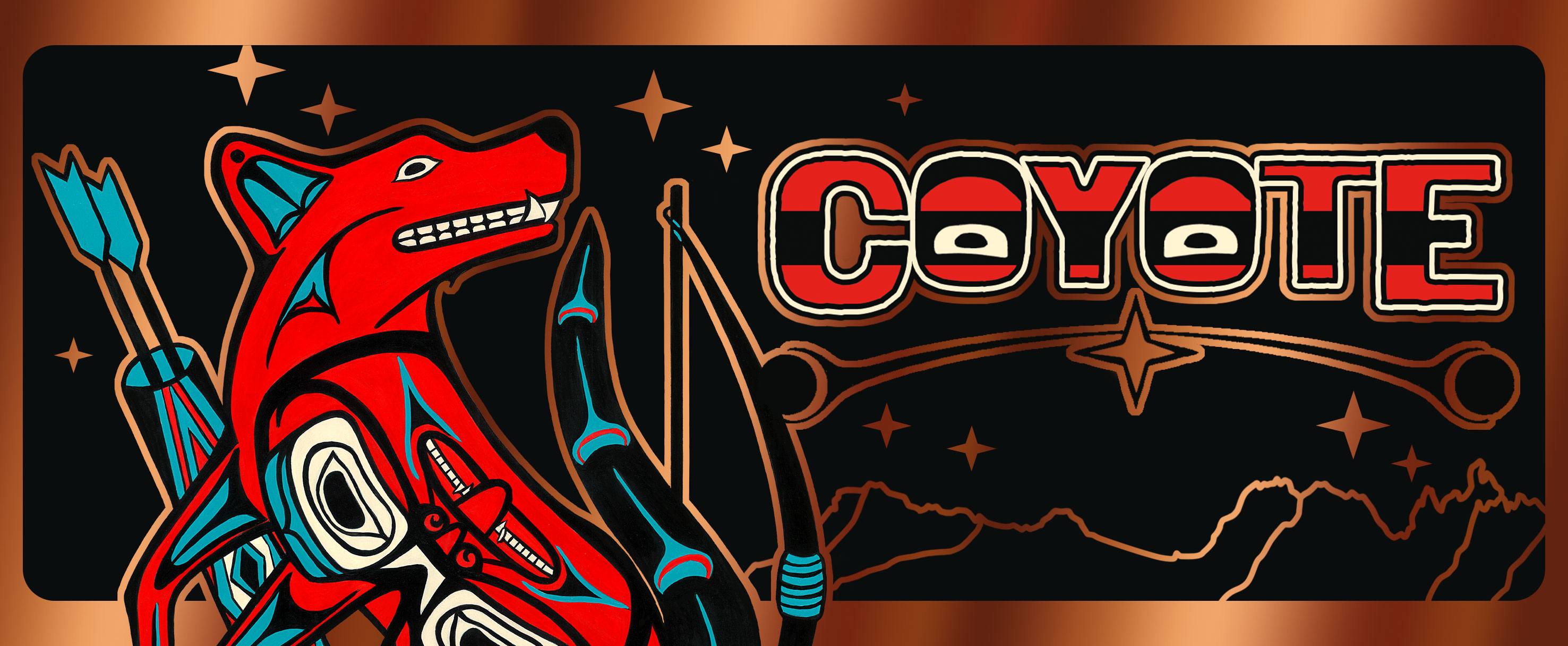 Banner Coyote